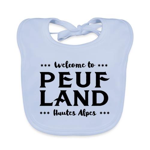 Peuf Land 05 - Hautes-Alpes - Black - Bavoir bio Bébé