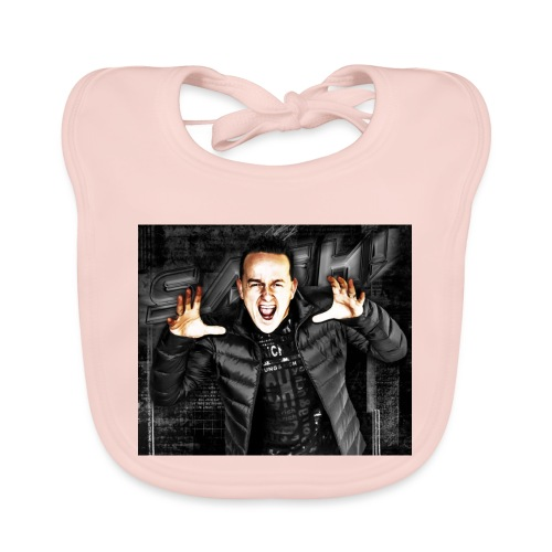 SASH! ***Scream Loud*** - Baby Organic Bib