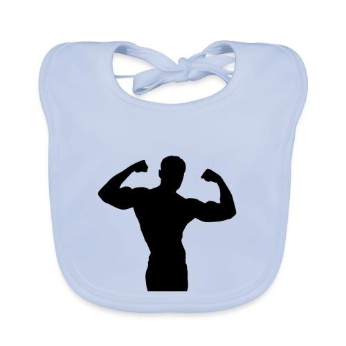 Musculation - Bavoir bio Bébé