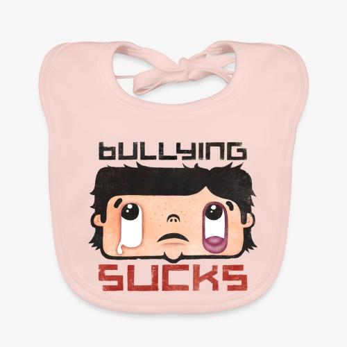 Bullying sucks - Vauvan luomuruokalappu