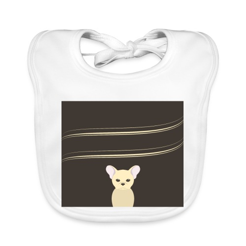002_franz--sische_bulldoggegr - Baby Bio-Lätzchen