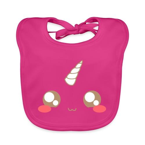 Kawaii_T-unicorn_EnChanta - Baby Organic Bib