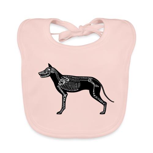 Dog skeleton - Bio-slabbetje voor baby's