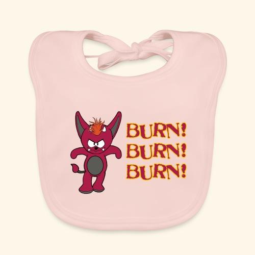 Zwergflammelfe - Burn! Burn! Burn! - Baby Bio-Lätzchen