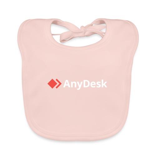 AnyDesk - logo white - Baby Bio-Lätzchen