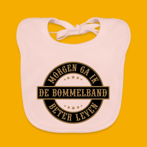 bb logo rond shirt - Bio-slabbetje voor baby's