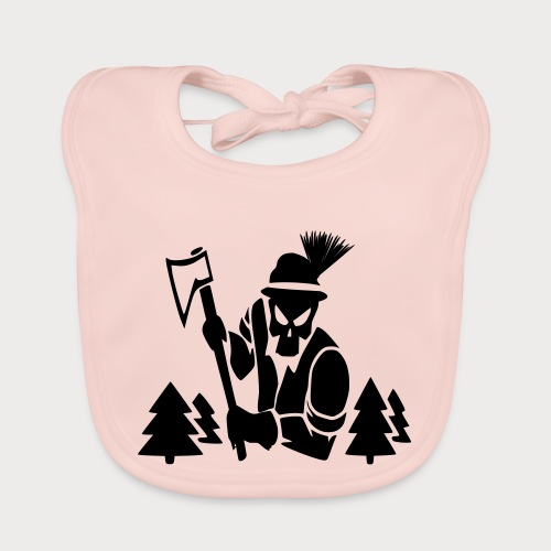 Holzfäller - Baby Bio-Lätzchen