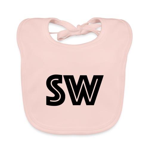Staged Whale cap - Bio-slabbetje voor baby's