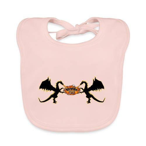 Styler Draken Design - Bio-slabbetje voor baby's