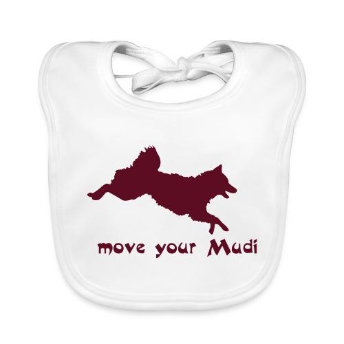 move your mudi - Baby Organic Bib