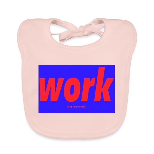 work - Vauvan luomuruokalappu
