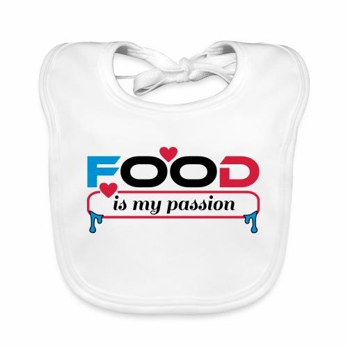 Food is my passion - Baby Bio-Lätzchen