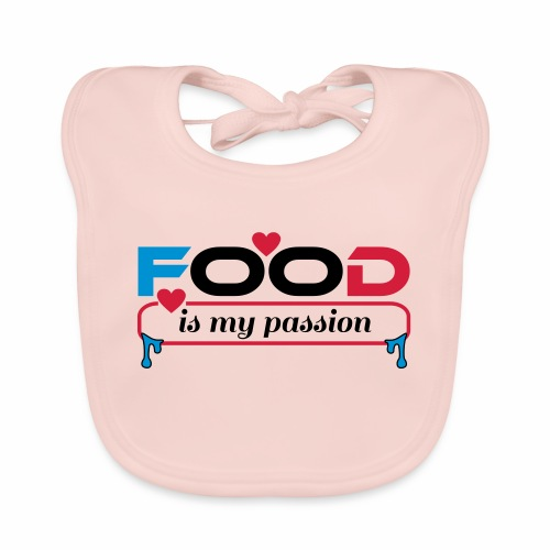 Food is my passion - Baby Bio-Lätzchen