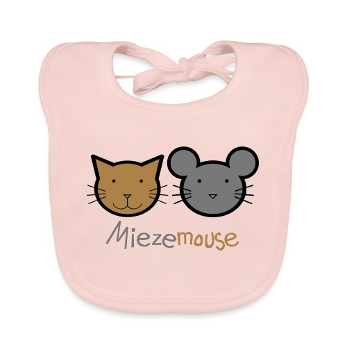Miezemouse Logo - Baby Bio-Lätzchen