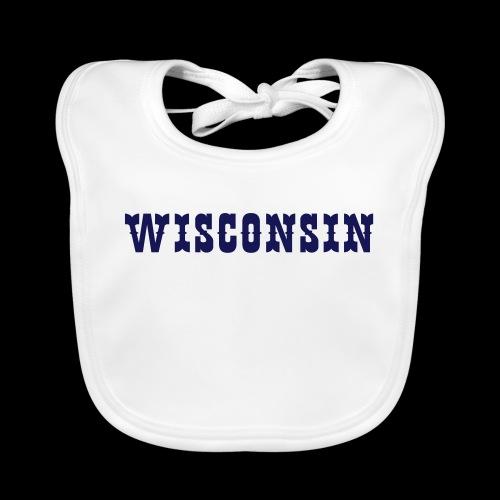 WISCONSIN - Baby Organic Bib