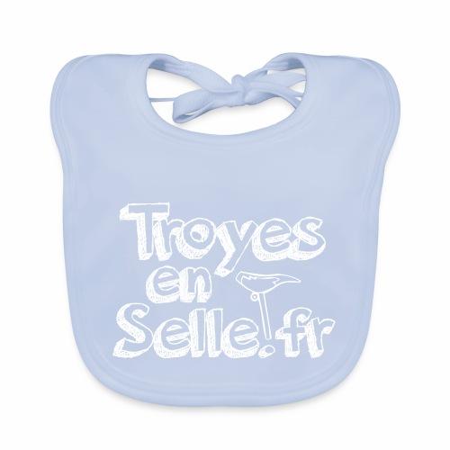 logo Troyes en Selle - Bavoir bio Bébé