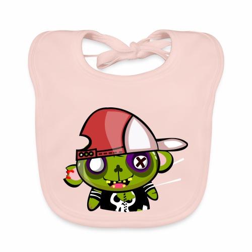 zombie hiphop - Babero de algodón orgánico para bebés