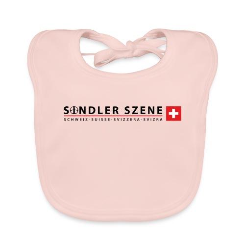 Sondler Szene Schweiz Logo breit - Baby Bio-Lätzchen