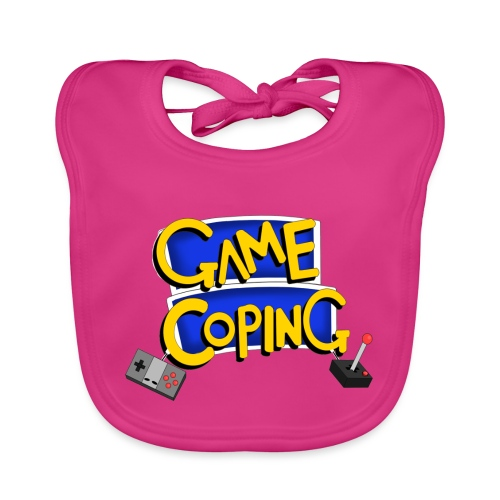 Game Coping Logo - Baby Organic Bib