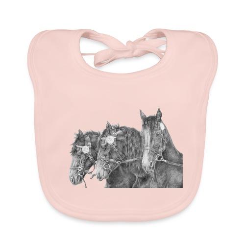 Friesian horse - Baby økologisk hagesmæk