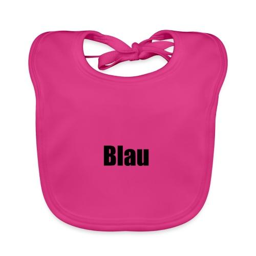 Blau - Baby Bio-Lätzchen