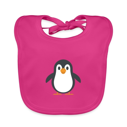 Pinguin - Baby Bio-Lätzchen