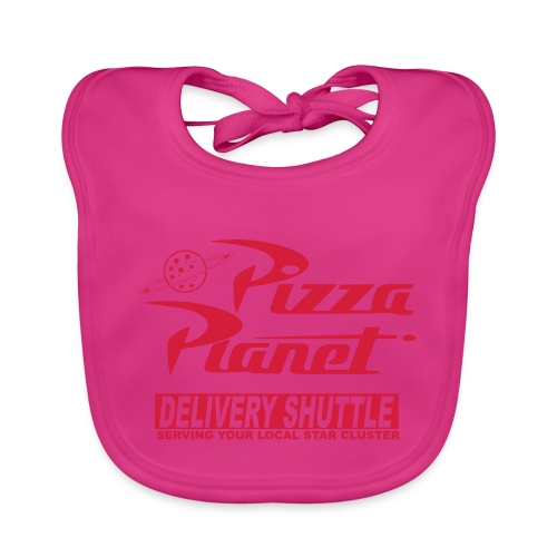 Pizza PLANET - Baby Organic Bib