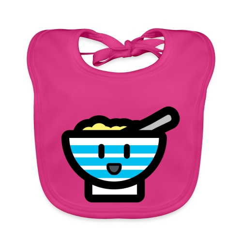 Cute Breakfast Bowl - Baby Organic Bib