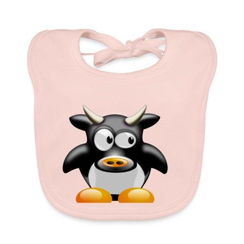 Kuh Shirt - Baby Bio-Lätzchen