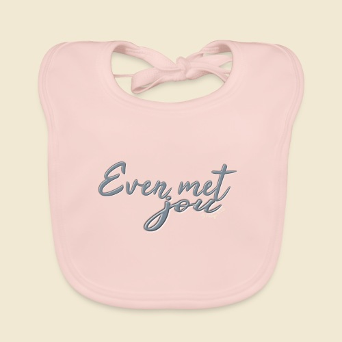 Even met jou II | by Natasja Poels - Bio-slabbetje voor baby's