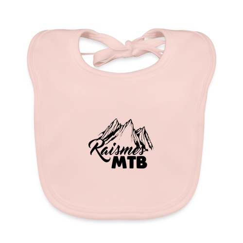 RaismesMTB Logo (maillot pour rider) - Bavoir bio Bébé