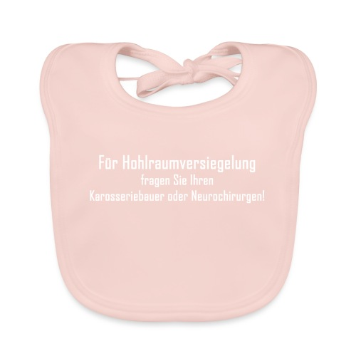 Hohlraumversiegelung - Baby Bio-Lätzchen