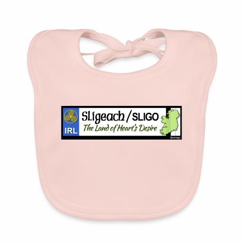 CO. SLIGO, IRELAND: licence plate tag style - Baby Organic Bib