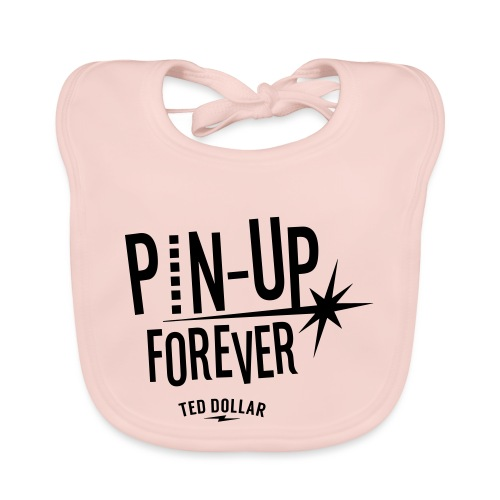 Pin-Up forever - Bavoir bio Bébé