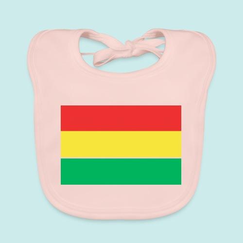 ROOD GEEL GROEN CARNAVAL - Bio-slabbetje voor baby's