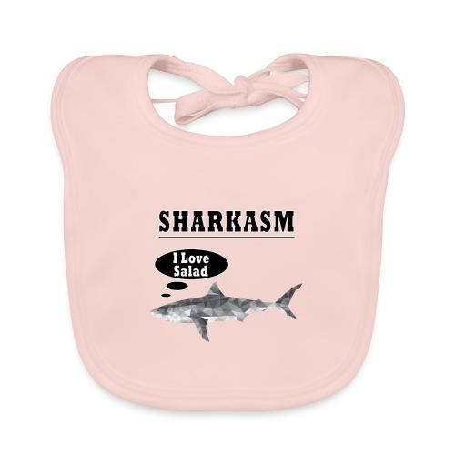 Sharkasm - Baby Organic Bib
