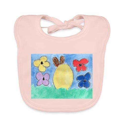 Frohe Ostern - Baby Bio-Lätzchen