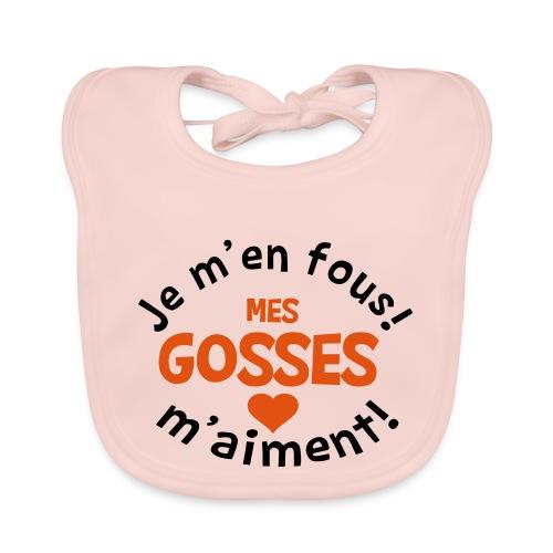 T-SHIRT ET DESIGN POUR FEMMES MES GOSSES - Bavoir bio Bébé