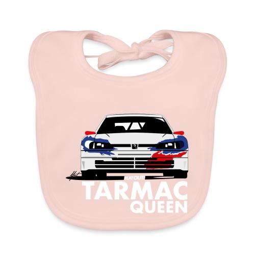 306 Maxi Rallye Tarmac Queen - Bavoir bio Bébé