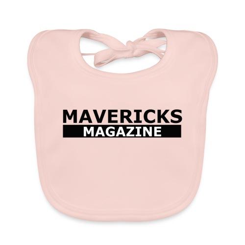 Mavericks_Magazine_Logo_Black - Bavaglino ecologico per neonato