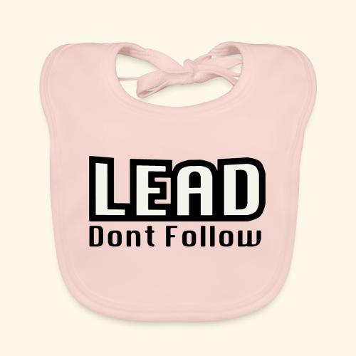 LEAD dont follow - Baby Bio-Lätzchen