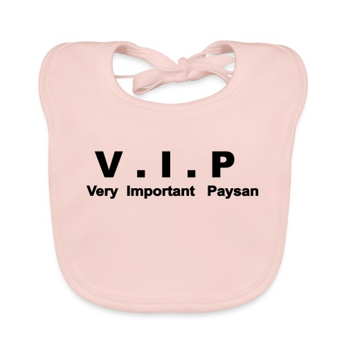 Very Important Paysan - VIP - Bavoir bio Bébé