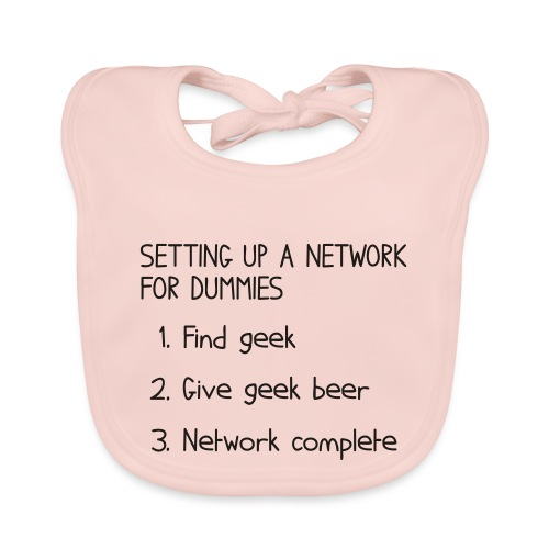 Setting up a network for dummies - Organic Baby Bibs