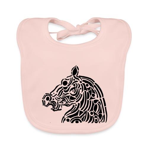 Horse - cheval tribal - Bavoir bio Bébé