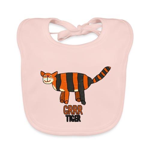 Tijger, Grrr - Bio-slabbetje voor baby's