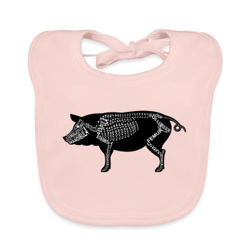 Schwein-Skelett - Bio-slabbetje voor baby's