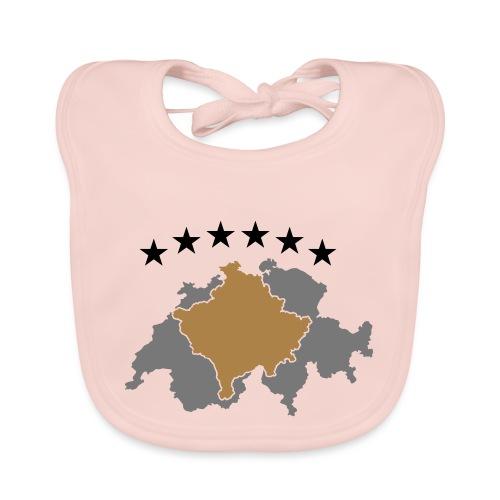 Kosovo Schweiz - Baby Bio-Lätzchen