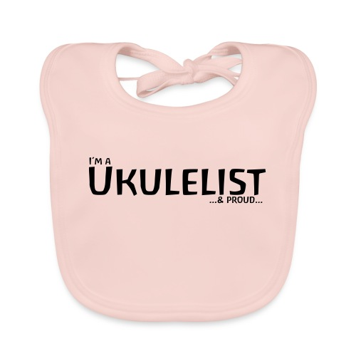 Ukulelist - Baby Organic Bib