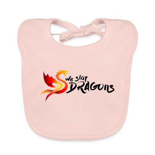 Slay Dragons - vankityrmät Dragons - Vauvan luomuruokalappu