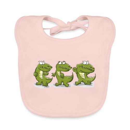 Nice krokodile - Baby Bio-Lätzchen